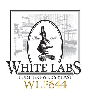 White Labs WLP644 Saccharomyces Bruxellensis-Like Trois Liquid Yeast