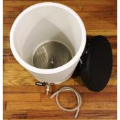 Mash Tun - 10 Gallon Industrial Cooler with SS Assembly