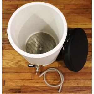 Mash Tun - 10 Gallon Igloo with SS Assembly
