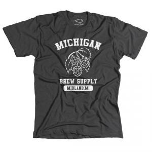 Michigan Brew Supply Original T-Shirt in Grey - Large