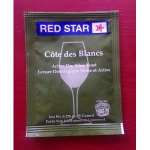 Red Star Cote Des Blancs Wine Yeast