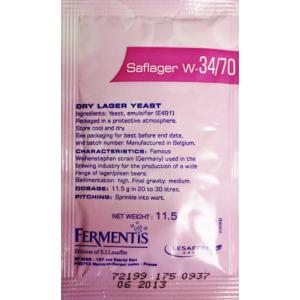 Saflager W-34/70 Lager Beer Yeast
