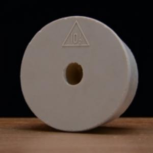Stopper - #10.5 Drilled Rubber Stopper