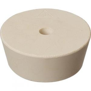 Stopper - #12 Drilled Rubber Stopper