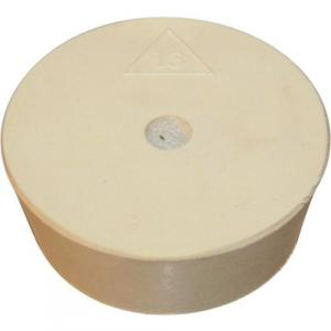 Stopper - #13 Drilled Rubber Stopper