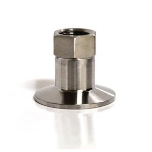 "Tri-Clamp - 1.5"" Stainless Tri-Clamp Fitting x 1/2"" FPT"