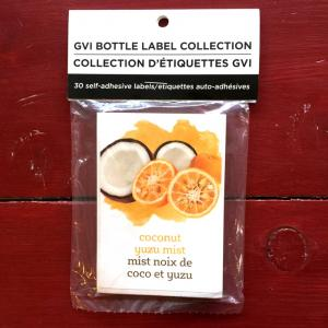 Wine Labels - Coconut Yuzu