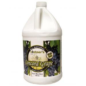 Fruit Wine Base - Vintners Best Concord Grape 128 oz