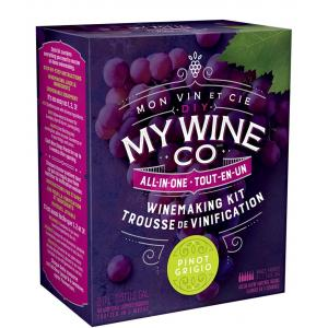 DIY My Wine Co Pinot Grigio All-in-One Wine Kit
