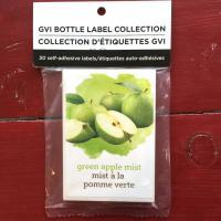 Wine Labels - Green Apple Mist