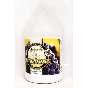 Fruit Wine Base - Vintners Best Lambrusco 128 oz