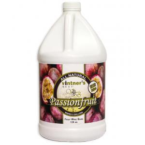 Fruit Wine Base - Vintners Best Passion Fruit 128 oz