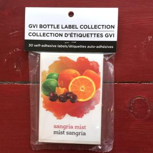 Wine Labels - Sangria