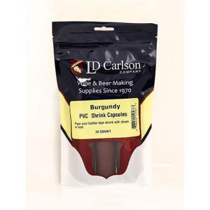 Shrink Capsules - Burgundy