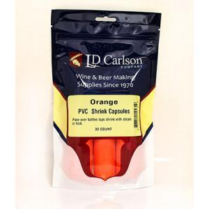 Shrink Capsules - Orange