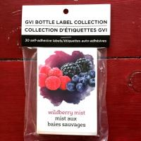 Wine Labels - Wildberry Mist