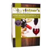 Vintner's Best Wine Making Equipment Kit w/Double Lever Corker