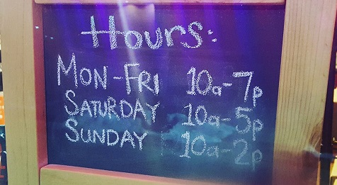 New Retail Hours for 2017