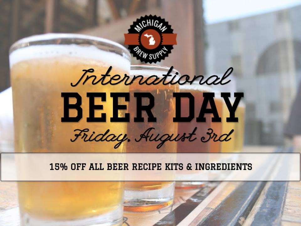 International Beer Day 2018
