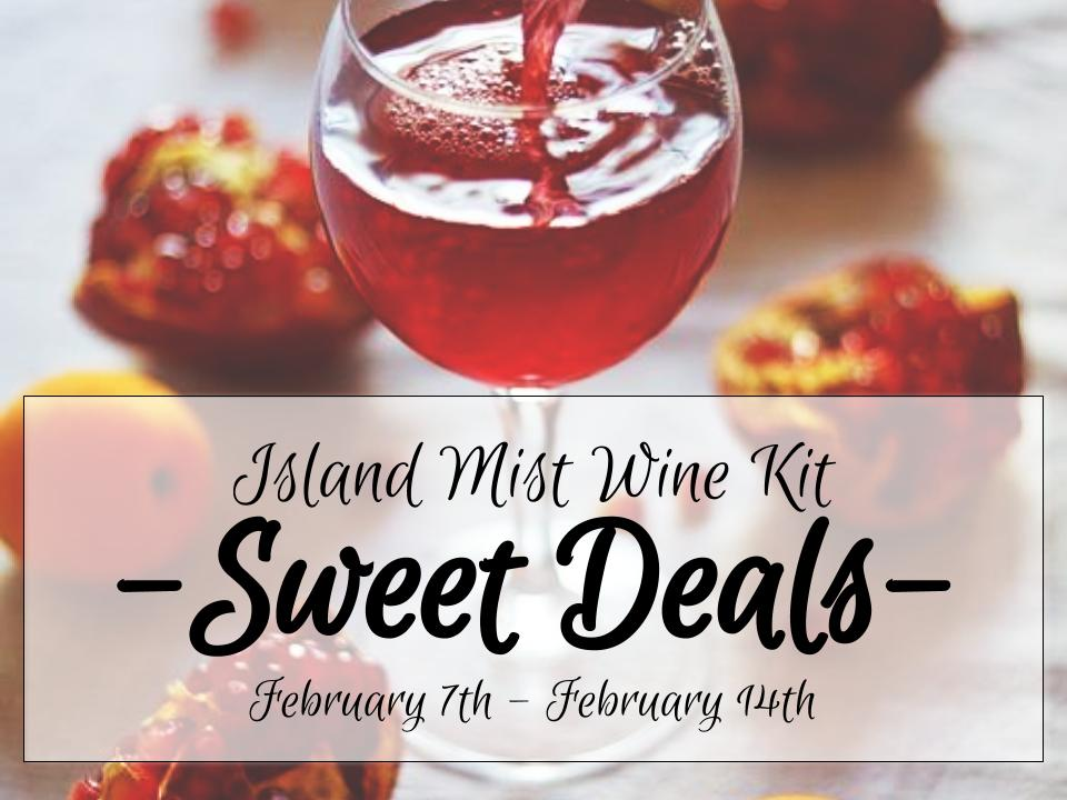 Sweet Deals on Island Mist Wine Kits