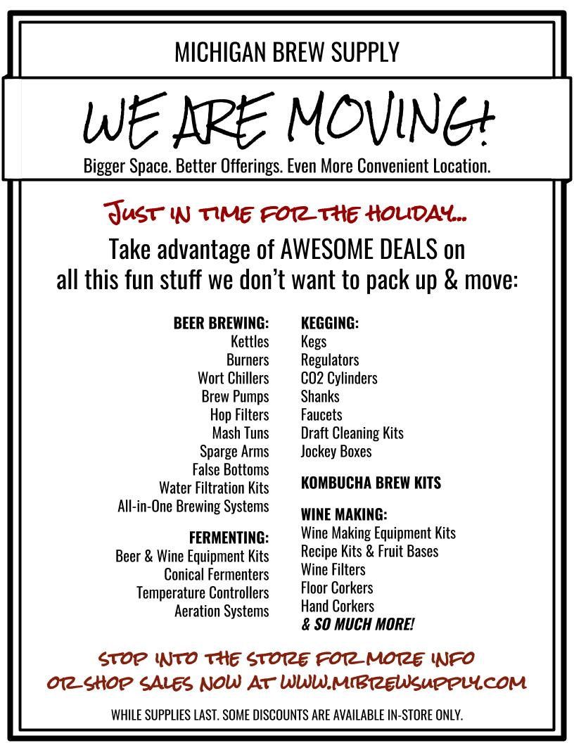 Moving Sale + Holiday Coupons