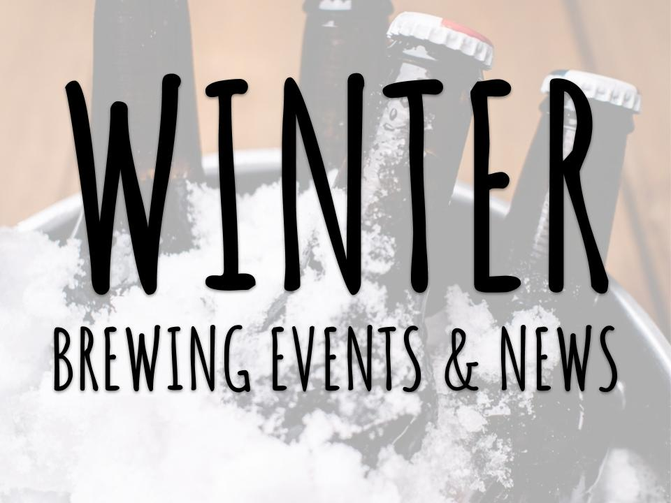 Winter 2019 Beer & Brewing Events