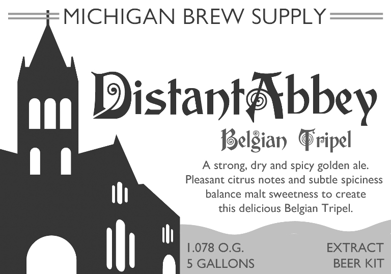 New Extract Kit - Distant Abbey Belgian Tripel!