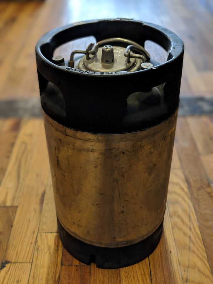 Keg 3 Gallon Pin Lock Used Michigan Brew Supply