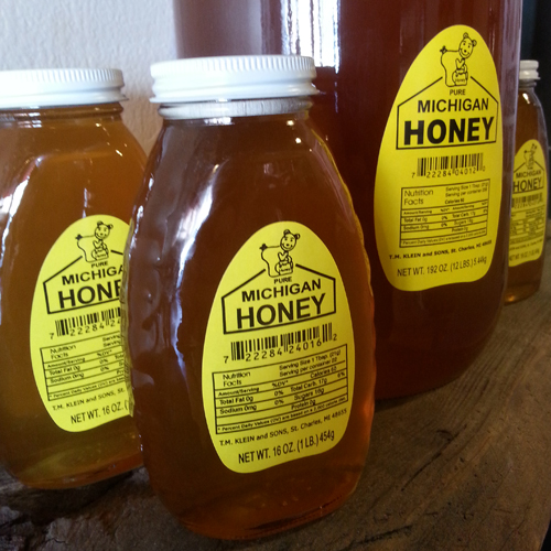 honey michigan lb jar 1lb beer mibrewsupply